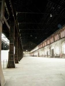 Torino, il padiglione principale delle OGR