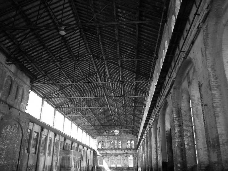 """''Torino, il tetto dello stabilimento """"Officine Grandi Riparazioni""""'' - Torino"""