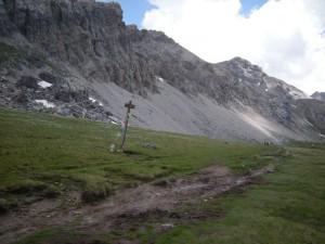 """sentiero """"Grande Randonnée"""" dal colle della Maddalena ai laghi rdi Roburent"""