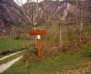 sentiero da Novalesa al colle del Moncenisio