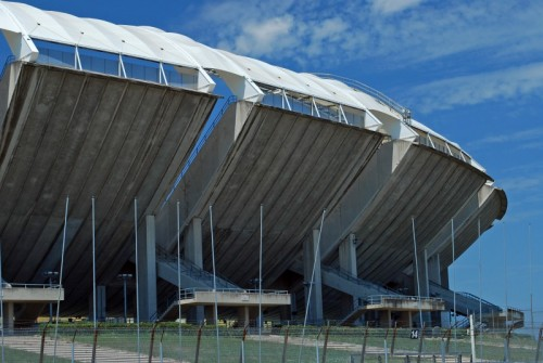 Bari - i settori dello stadio san Nicola di Bari