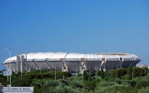 … quasi quasi … parto… (stadio San Nicola di Bari)
