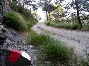 Sentiero per Località Villaretto di Oulx