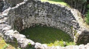 resti di tomba romana
