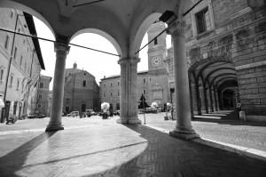 Piazza della Liberta' -  Macerata -