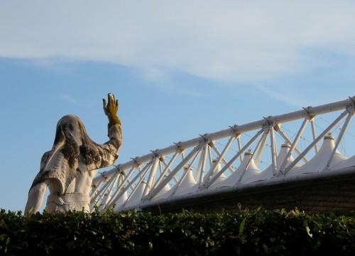 Roma - Olimpico è bianco celeste
