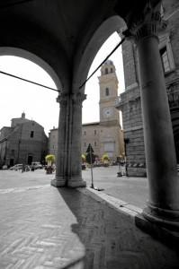 """"""" La Piazza di Macerata """""""
