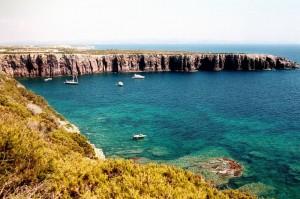 Golfo della Mezzaluna nell'isola di San Pietro