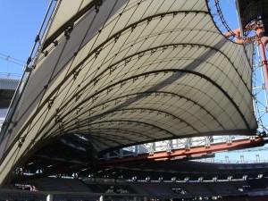 """la """"vela"""" dello Stadio delle Alpi (Torino)"""