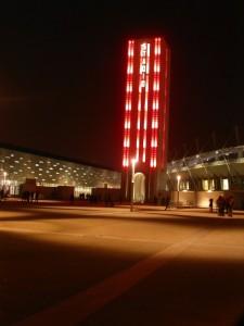 "la ""Torre Maratona"", Stadio Comunale, Torino"