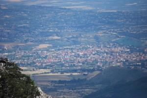 Castrovillari vista dal Pollino