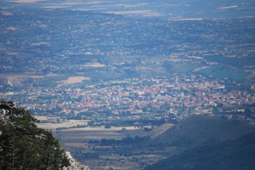 Castrovillari - Castrovillari vista dal Pollino