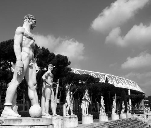 Roma - Calciatore e Olimpico
