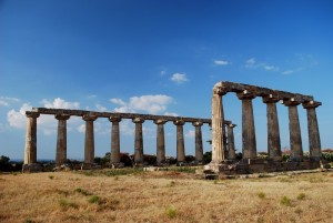 la tomba di Pitagora  - Tavole Palatine - Tempio di Hera