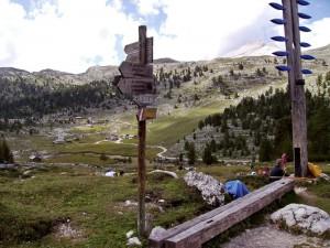 sentiero n. 10 da Lavarella a Fanes