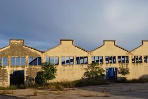 Lo stabilimento Fibronit di Bari