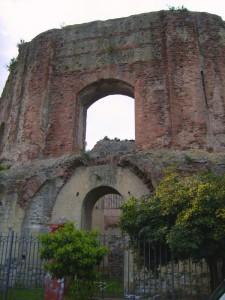 Il tempio di Venere di Baia