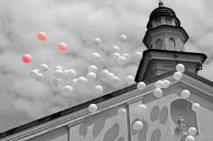Volo di palloncini
