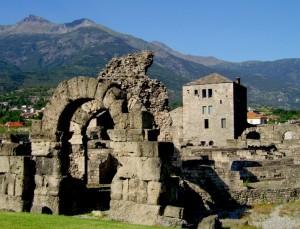 Teatro romano a Aosta