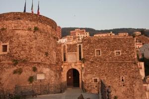 Tramonto su castello Murat