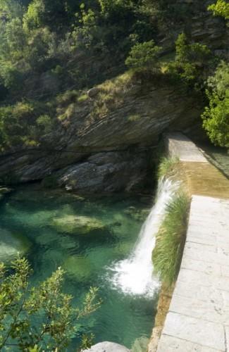 Rocchetta Nervina - Cascata del torrente Barbaira
