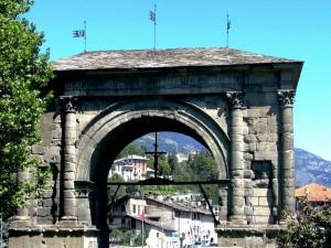 AOSTA – L'Arco di Augusto e …..oltre