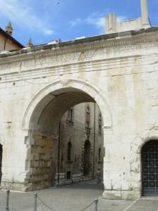 L'Arco di Augusto a Fano
