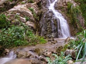Ultimo tratto delle cascate a Bagnara Calabra