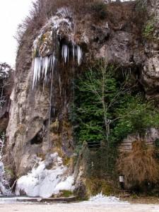 Cascate della Valganna ghiacciate