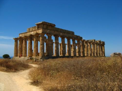 Castelvetrano - Tempio E, tempio di Era