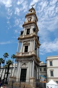il campanile del santuario
