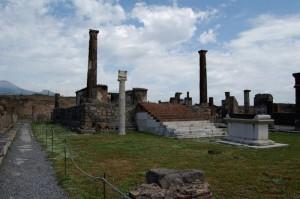 i resti della  vecchia pompei