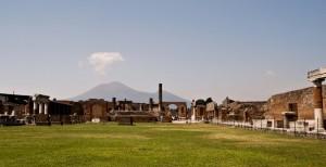 Il Foro…e il Vesuvio