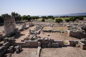 le rovine di Egnazia nel comune di Fasano