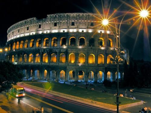 Roma - Colosseo di notte