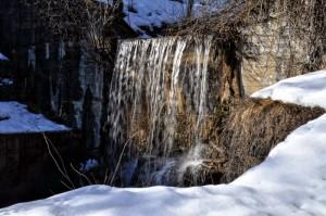 le cascate dell'Arroscia