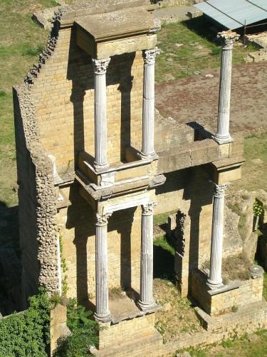 Volterra - Teatro Romano di Vallebuona