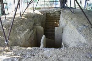 Necropoli etrusca di Prato Rosello - Resti di tomba 1
