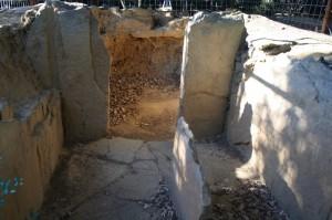 Necropoli etrusca di Prato Rosello - Resti di tomba 2