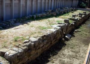 Mura greche del lungomare 2