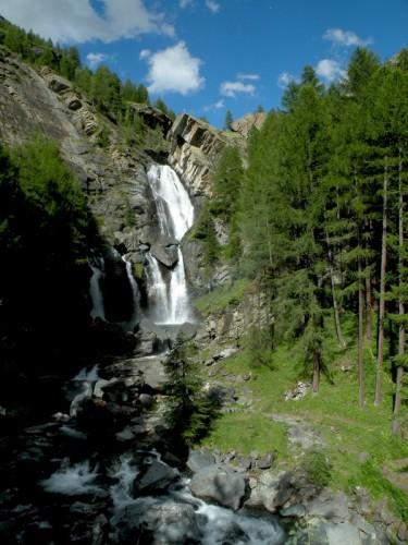 Cogne - Le cascate di Lillaz