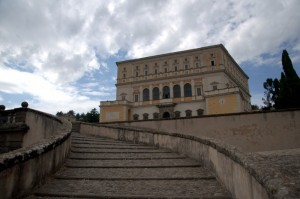 scalinata Villa Farnese