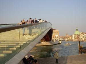Sù e zò per le scale (anche sul ponte de Calatrava)
