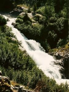 Le cascate del Rutor
