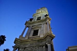 Santuario della Beata Vergine del Rosario - il campanile
