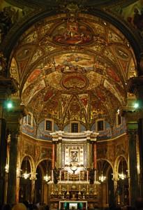Santuario della Beata Vergine del Rosario - navata centrale