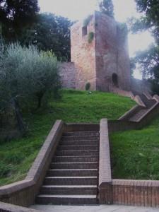 Accesso al castello