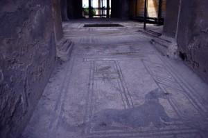 Mosaico a Pompei