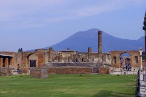 Pompei all'ombra del Vesuvio