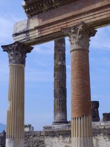 Colonne a Pompei